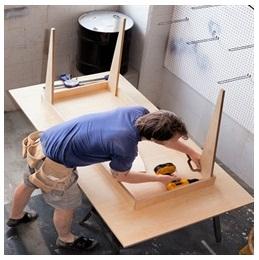 Сборка столов по низким ценам в Калуге от специалистов