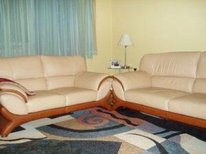 Перетяжка кожаной мебели в Калуге